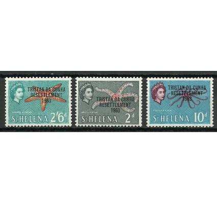 Znaczek Tristan da Cunha 1963 Mi 57+62+65 Czyste **