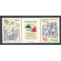 Włochy 1985 Mi 1907-1909 Czyste **