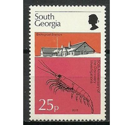 Znaczek Georgia Południowa i Sandwich Południowy 1976 Mi 55 Czyste **
