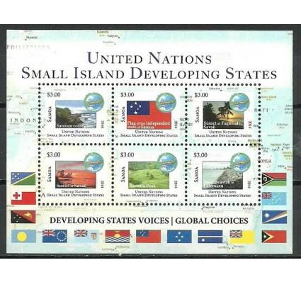 Znaczek Samoa 2014 Mi bl 89 Czyste **
