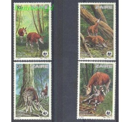 Znaczek Kongo Kinszasa / Zair 1984 Mi 875-878 Czyste **