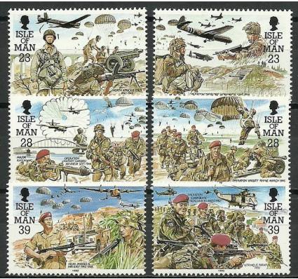 Znaczek Wyspa Man 1992 Mi 497-502 Czyste **
