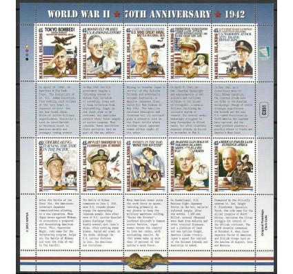 Znaczek Wyspy Marshalla 2012 Mi ark 2969-2978 Czyste **