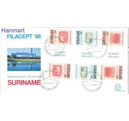 Znaczek Surinam 1988 Mi 1274-1276 FDC