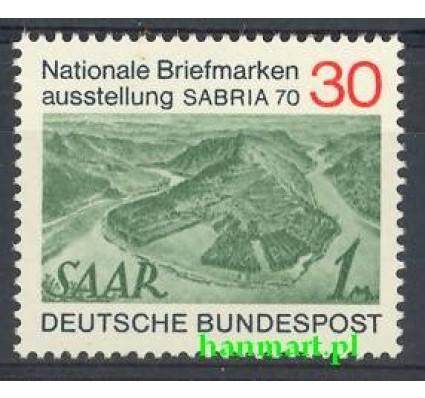 Znaczek Niemcy 1970 Mi 619 Czyste **