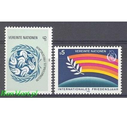 Znaczek Narody Zjednoczone Wiedeń 1986 Mi 62-63 Czyste **