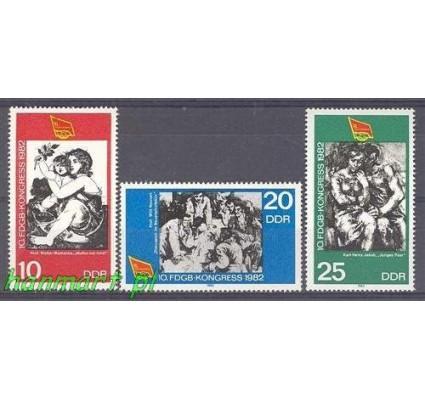 Znaczek NRD / DDR 1982 Mi 2699-2701 Czyste **