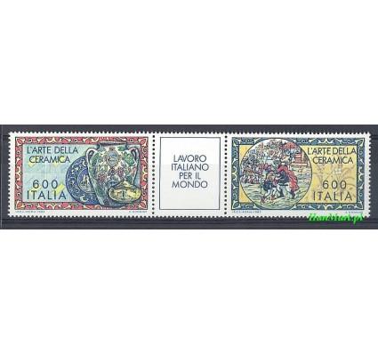 Włochy 1985 Mi 1910-1911 Czyste **