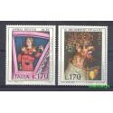 Włochy 1977 Mi 1577-1578 Czyste **