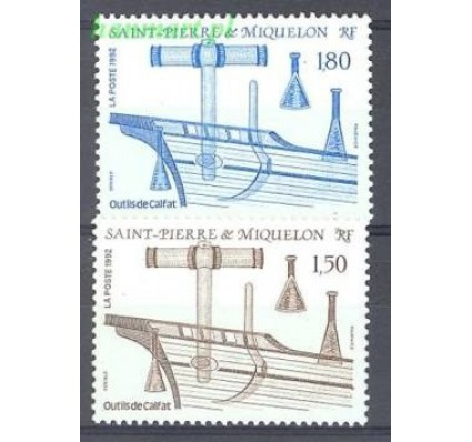 Saint-Pierre i Miquelon 1992 Mi 636-637 Czyste **