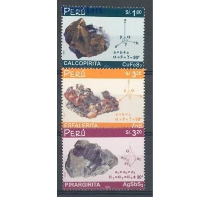 Znaczek Peru 2002 Mi 1836-1838 Czyste **