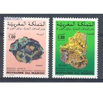Znaczek Maroko 1987 Mi 1127-1128 Czyste **