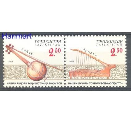 Znaczek Tadżykistan 2004 Mi 347-348 Czyste **