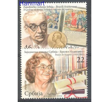 Znaczek Serbia 2011 Mi 437-438 Czyste **
