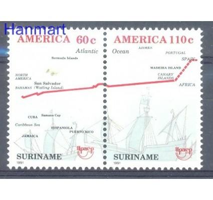 Surinam 1991 Mi 1377-1378 Czyste **