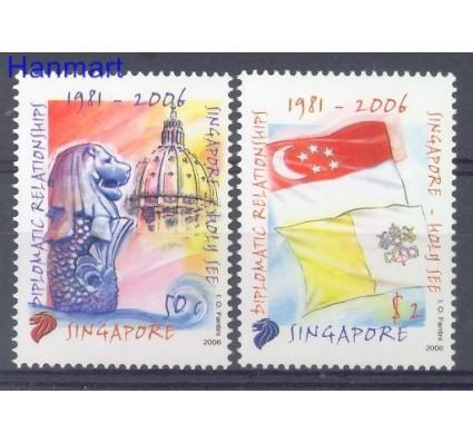 Znaczek Singapur 2006 Mi 1626-1627 Czyste **