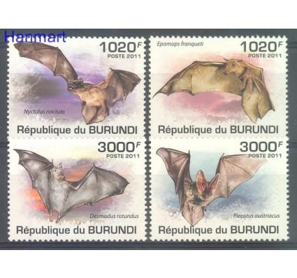 Znaczek Burundi 2011 Mi 2046-2049 Czyste **