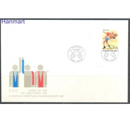 Znaczek Finlandia 1987 Mi 1013 FDC