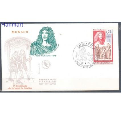 Znaczek Monako 1973 FDC