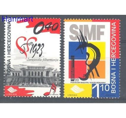 Znaczek Bośnia i Hercegowina 1999 Mi 186-187 Czyste **