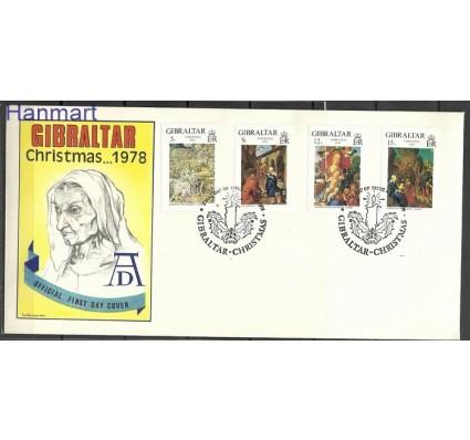 Znaczek Gibraltar 1978 Mi 383-386 FDC