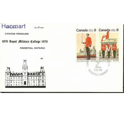 Znaczek Kanada 1976 Mi 628-629 FDC