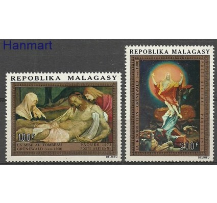 Znaczek Madagaskar 1973 Mi 673-674 Czyste **