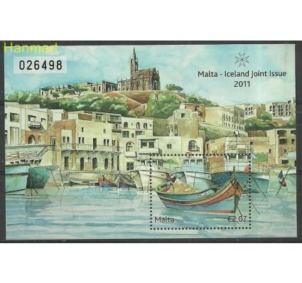 Znaczek Malta 2011 Mi bl 50 Czyste **