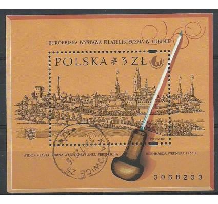 Znaczek Polska 2001 Mi bl 145A Fi bl 134B Stemplowane