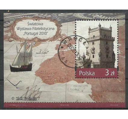Znaczek Polska 2010 Mi bl 194 Fi bl 225 Stemplowane