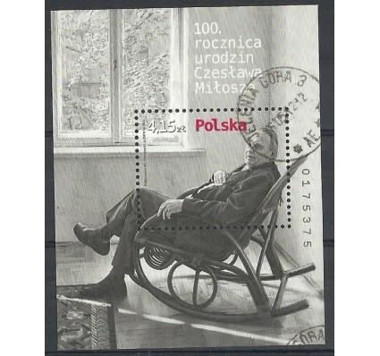 Znaczek Polska 2011 Mi bl 198 Fi bl 230 Stemplowane