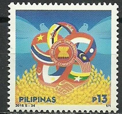 Znaczek Filipiny 2015 Mi 4985 Czyste **