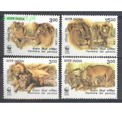 Znaczek Indie 1999 Mi 1704-1707 Czyste **