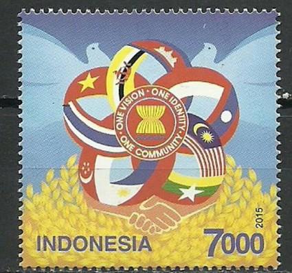 Znaczek Indonezja 2015 Mi 3204 Czyste **