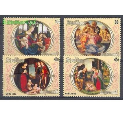 Znaczek Burundi 1981 Mi 1558-1561 Czyste **