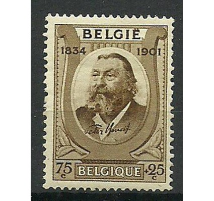 Znaczek Belgia 1934 Mi 377 Z podlepką *