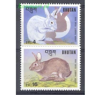 Znaczek Bhutan 1999 Mi 1809-1810 Czyste **