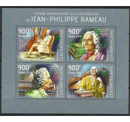Znaczek Republika Środkowoafrykańska 2014 Mi ark 4555-4558 Czyste **