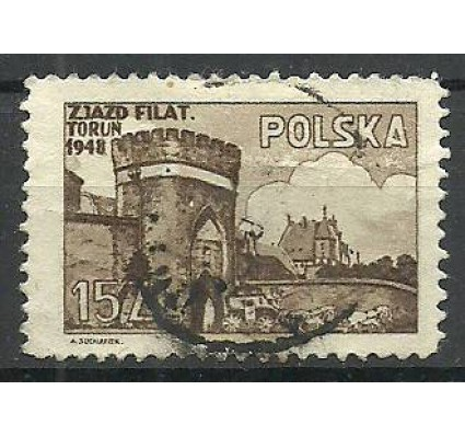 Znaczek Polska 1948 Mi 503 Fi 468 Stemplowane