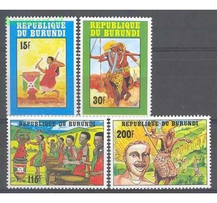 Burundi 1992 Mi 1730-1733 Czyste **