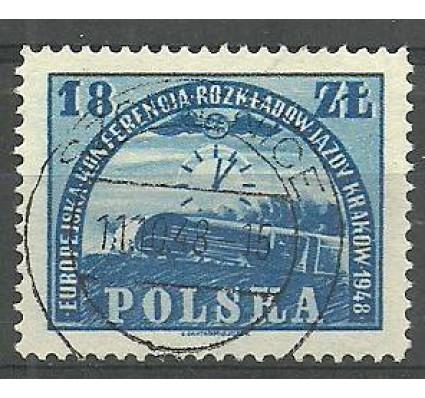 Znaczek Polska 1948 Mi 504 Fi 469 Stemplowane