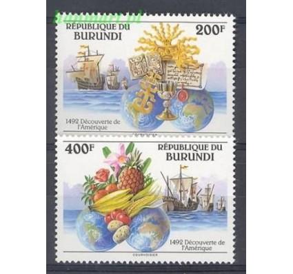 Burundi 1992 Mi 1756-1757 Czyste **