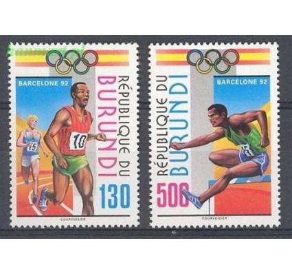 Burundi 1992 Mi 1762-1763 Czyste **