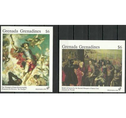 Znaczek Grenada i Grenadyny 1992 Mi bl 239-240 Czyste **