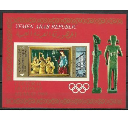 Znaczek Jemen Północny 1969 Mi bl94B Czyste **
