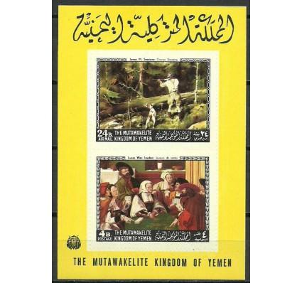 Znaczek Jemen Królestwo 1968 Mi bl 124B Czyste **