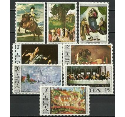 Znaczek Liberia 1969 Mi 715-722 Czyste **