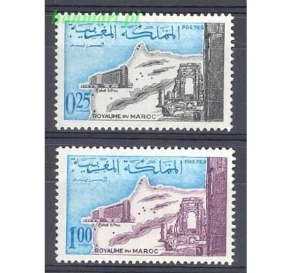 Znaczek Maroko 1967 Mi 582-583 Czyste **