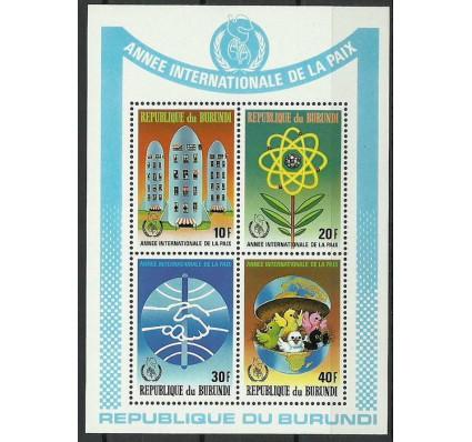 Znaczek Burundi 1987 Mi bl 124C Czyste **