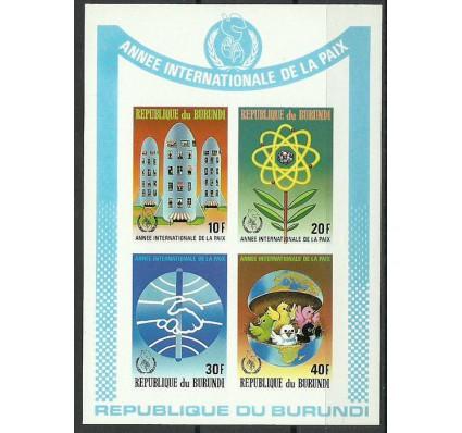 Znaczek Burundi 1987 Mi bl 124B Czyste **